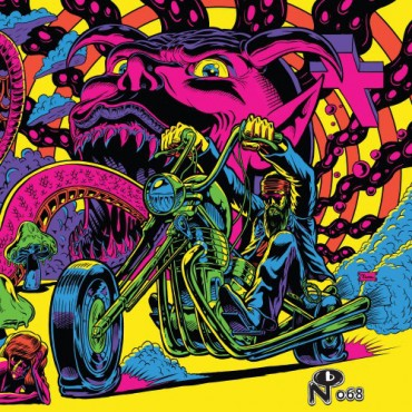 "Various‎– Warfaring Strangers: Acid Nightmares 2 Lp Double Vinyl Gatefold Sleeve ""Tip On"""