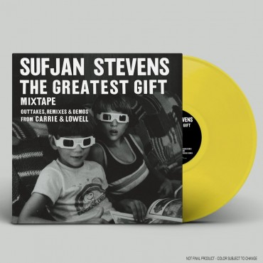 Sufjan Stevens ‎– The Greatest Gift Lp Vinilo Amarillo Edición Limitada