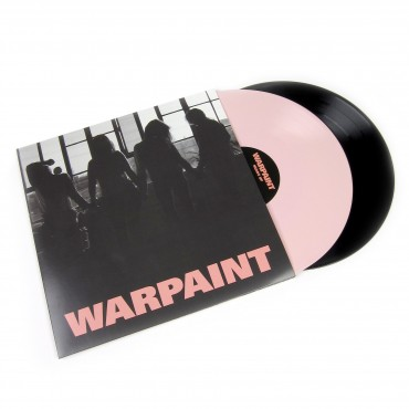 Warpaint - Heads Up 2 Lp Vinilo Rosa/Negro Edición Limitada