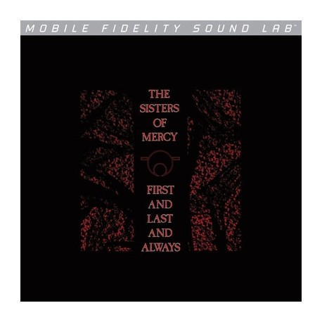 Sisters Of Mercy - First And Last And Always Lp Vinilo De 180 Gramos MOFI Numerado