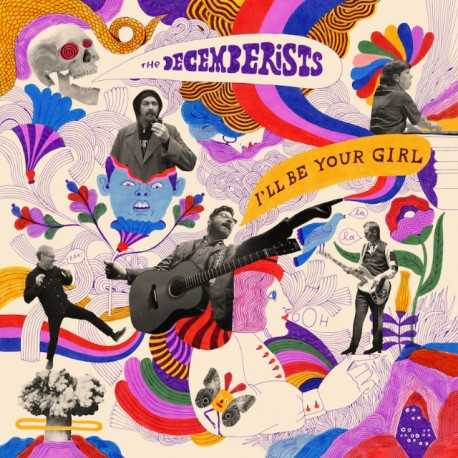 Decemberists - I'll Be Your Girl Lp Vinilo Blanco Edición Limitada Pre Pedido