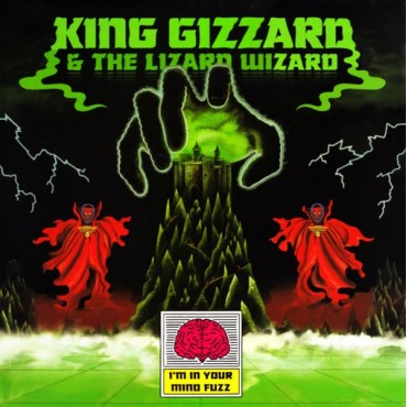 King Gizzard And The Lizard Wizard ‎– I'm In Your Mind Fuzz Lp Vinilo Negro Edición Americana