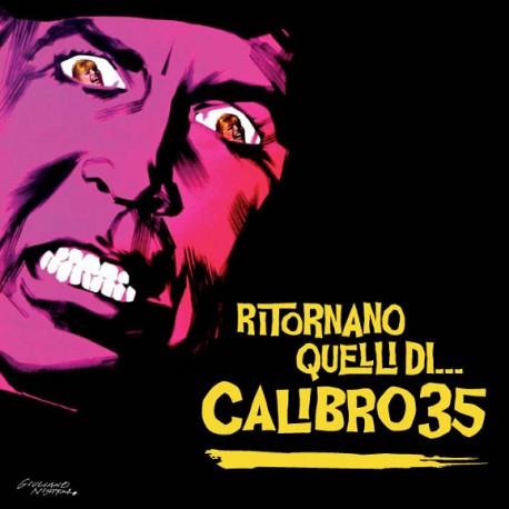 Calibro 35 – Ritornano Quelli Di... 2 Lp Doble Vinilo Portada Gatefold