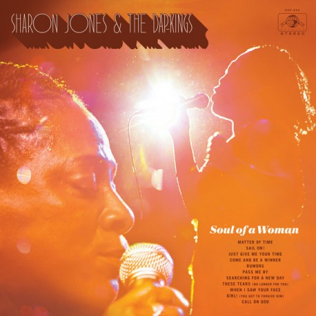 Sharon Jones & The Dap-Kings ‎– Soul Of A Woman Lp Vinilo Negro