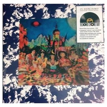 The Rolling Stones - Their satanic Majesties Request Lp Vinilo Transparente Edición Europea Limitada Record Store Day 2018