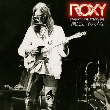 Neil Young - Roxy Tonight's The Night Live 2 Lp Doble Vinilo Portada Gatefold