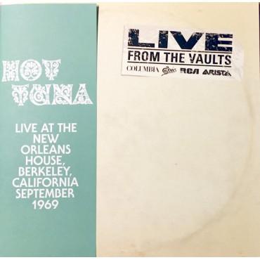 Hot Tuna – Live At The New Orleans House 2 Lp Doble Vinilo Edición Limitada Y Numerada Record Store Day 2018