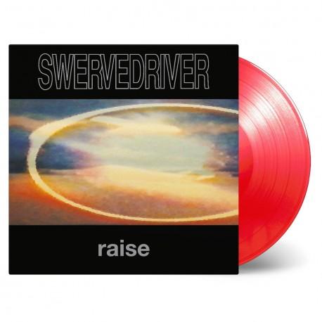 Swervedriver - Raise Lp Vinilo Rojo En 180 Gramos Edición Limitada De 2500 Copias MOV