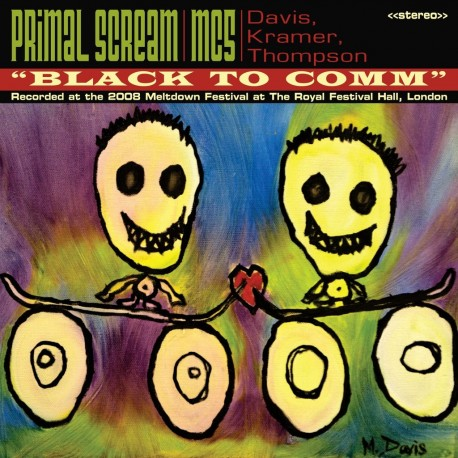 Primal Scream / MC5 - Black To Comm Ep Lp Vinilo Rojo Edición Limitada De 1000 Copias