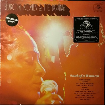 Sharon Jones & The Dap-Kings ‎– Soul Of A Woman Lp Color Vinyl Limited Edition