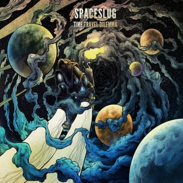 Spacelug -Time Travel Dilemma Lp Blue Vinyl Gatefold Sleeve Limited Edition Of 500 Copies