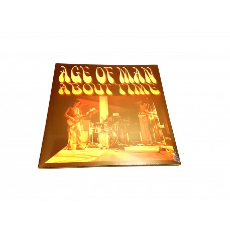 Age Of A Man - About Time Vinyl Lp (Black) Limited To 250