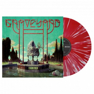 Graveyard - Peace Lp Splatter Vinyl (Red/White) Limited Edition Of 2500 Copies.