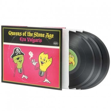 "Queens Of The Stone Age ‎– Era Vulgaris 3 Lp Triple Vinilo ""10 Portada Trifold"