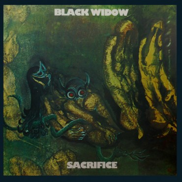 Black Widow - Sacrifice Lp Vinilo De 180 Gramos Editado Por Repertoire Records