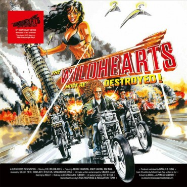 The Wildhearts – The Wildhearts Must Be Destroyed Lp Vinyl Gatefold Sleeve Reissue 2018