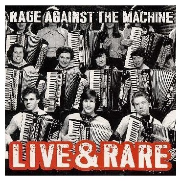 Rage Againt The Machine - Live And Rare 2 Lp Doble Vinilo RSD Black Friday 2018