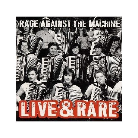 Rage Againt The Machine - Live And Rare 2 Lp Doble Vinilo RSD Black Friday 2018 Pre Pedido