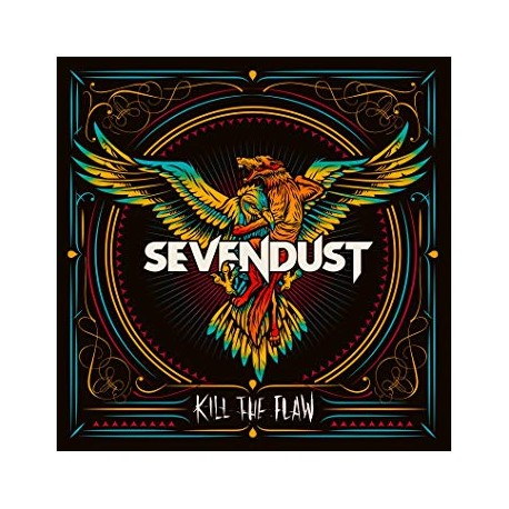 Sevendust - Kill The Flaw Lp Vinilo De Color Edición Limitada Backorder