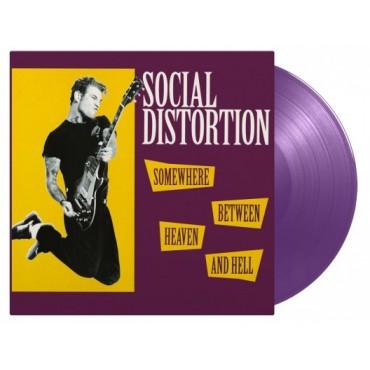 Social Distortion - Somewhere Between Heaven And Hell Lp Vinilo De Color Edición Limitada De 2500 Copias MOV Pre Pedido