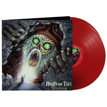High On Fire ‎– Electric Messiah 2 Lp Double Red Vinyl Gatefold Sleeve