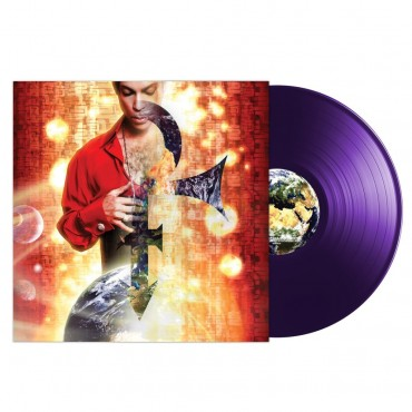 Prince - Planet Earth Lp Purple Vinyl Lenticular Sleeve Limited Edition