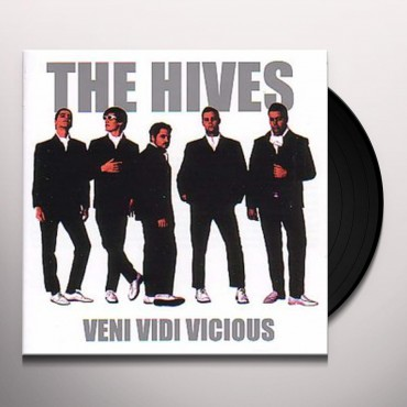 The Hives - Veni Vidi Vicious Lp Vinilo De Color Plateado Limitado