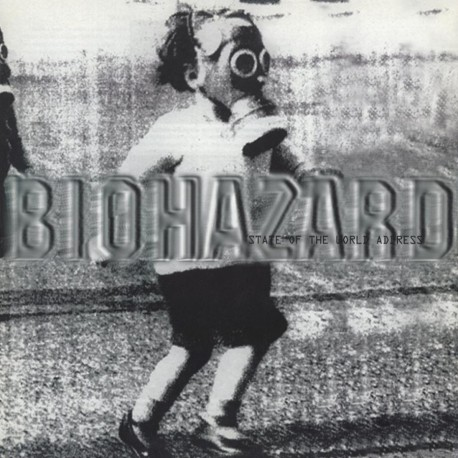 Biohazard - State Of The World Address Lp Vinil De Color Edició Limitada De 1000 Copies Editado Por MOV Pre Comanda