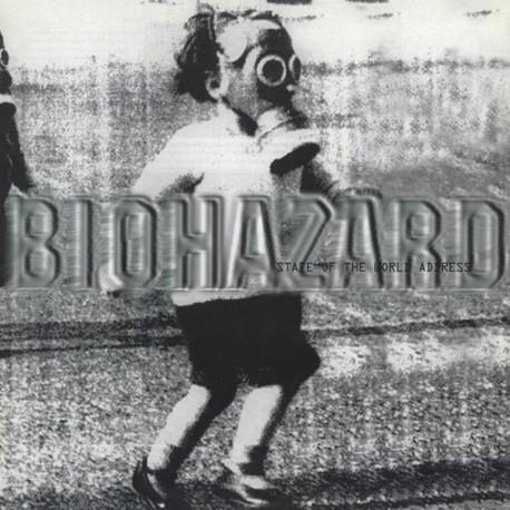 Biohazard - State Of The World Address Lp Vinilo De Color Edición Limitada De 1000 Copias Editado Por MOV Pre Comanda