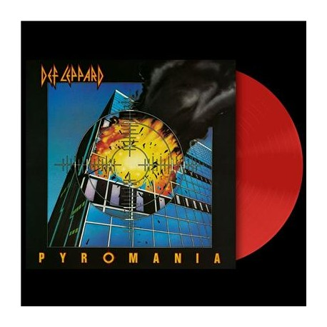 d71deefc0b Def Leppard - Pyromania Lp Red Vinyl Limited Edition - Electric ...