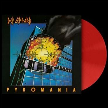 Def Leppard - Pyromania Lp Vinilo Rojo Edición Limitada