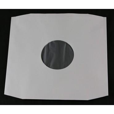 """""""12 Pack de 25 Inner Sleeves De Paper Blanc Amb Plàstic Antiestàtic"""