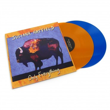 Juliana Hatfield – Only Everything 2 Lp Doble Vinilo De Color Naranja/Azul Edición Limitada a 1374 Copias