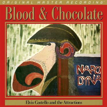Elvis Costello And The Attractions ‎– Blood & Chocolate Lp Vinilo De 180 Gramos Mobile Fidelity Numerado