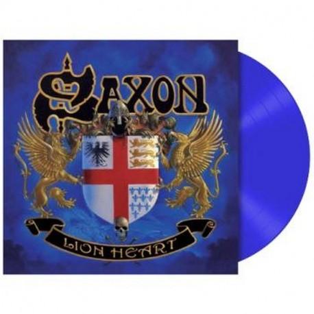 Saxon - Lionheart Lp Vinilo Morado Edición Limitada