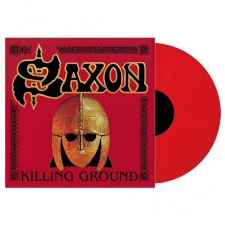 Saxon - Killing Ground Lp Red Vinyl Limited Edition
