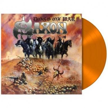 Saxon - Dogs Of War Lp Vinilo Naranja Edición Limitada