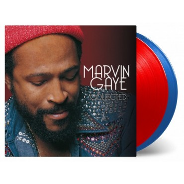 Marvin Gaye - Collected 2 Lp Doble Vinilo De Color Edición Limitada MOV