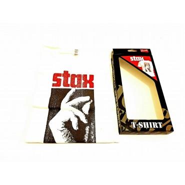 Camiseta Stax - Logo M Blanca Bravado