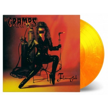 The Cramps -Flamejob Lp Color Vinyl Limited Edition Of 2000 Copies MOV Pre Order