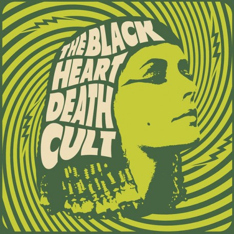 The Black Heart Death Cult - ST Lp Color Vinyl Limited Edition Of 200 Copies