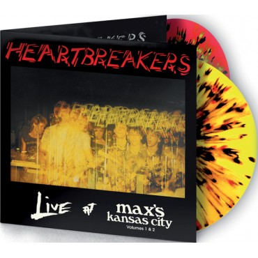 The Heartbreakers – Live At Max's Kansas City 1 & 2 2 Lp Doble Vinilo De Color Edición Limitada