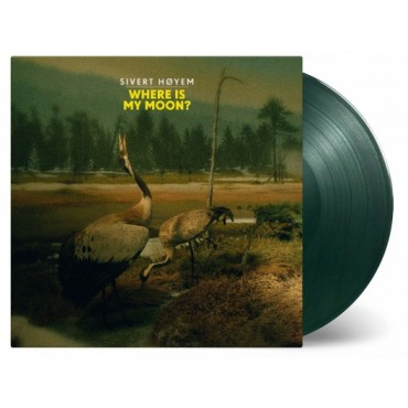 """Sivert Hoyem - Where is My Moon? """"10 Color Vinyl Limited Edition Of 1000 Copies RSD 2019"""