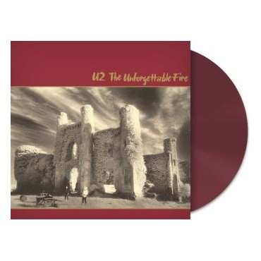 U2 - The Unforgettable Fire Lp Red Vinyl Limited Edition