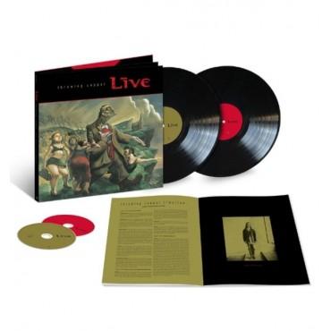 Live - Throwing Copper - 25th Anniversary 2 Lp + 2 CD Super Deluxe Box Set Pre Pedido