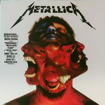 Metallica - Hardwired...To Self-Destruct 3 Lp Deluxe Box Set Triple Vinyl Limited Edition