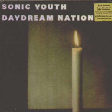 Sonic Youth ‎– Daydream Nation (Deluxe) 4 Lp Quadruple Vinyl (Box Set) Limited Edition