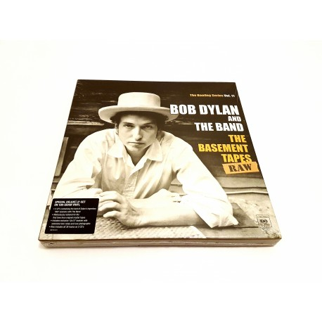 Bob Dylan And The Band ‎– The Basement Tapes Raw 3 Lp + 2 CD Vinilo Box Set