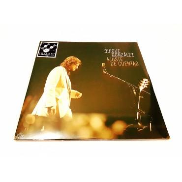 Quique González - Ajuste De Cuentas 2 Lp + CD Vinyl