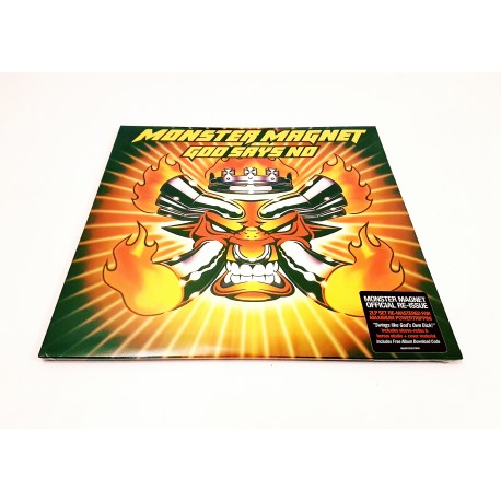 Monster Magnet - God Says No 2 Lp Vinilo Gatefold
